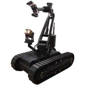 Superdroid HD2 Swateod Tactical Treaded Robot W5DOF Arm